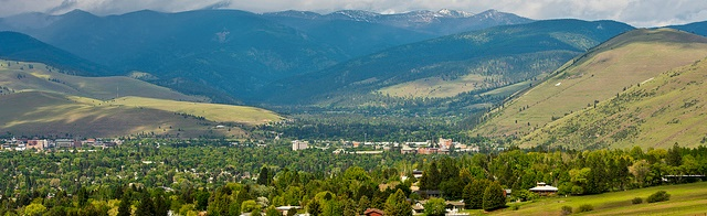 Image of Missoula from South Hills